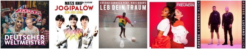 Deutsche WM Lieder 2018