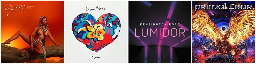 CD Neuerscheinungen 10 August 2018