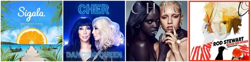 Dance Pop Veröffentlichungen