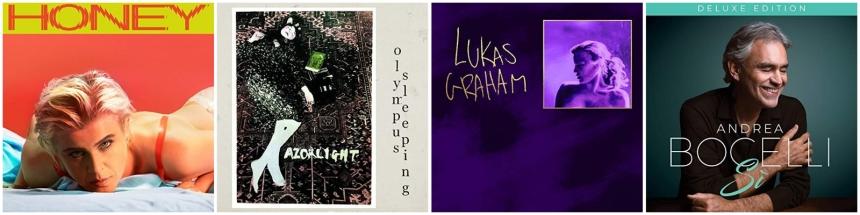 Pop CD Neuerscheinungen