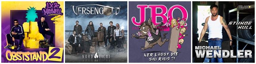 CD Neuerscheinungen 28 June 2019