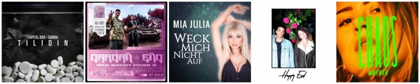 Deutsche Musik Singles Juni 2019